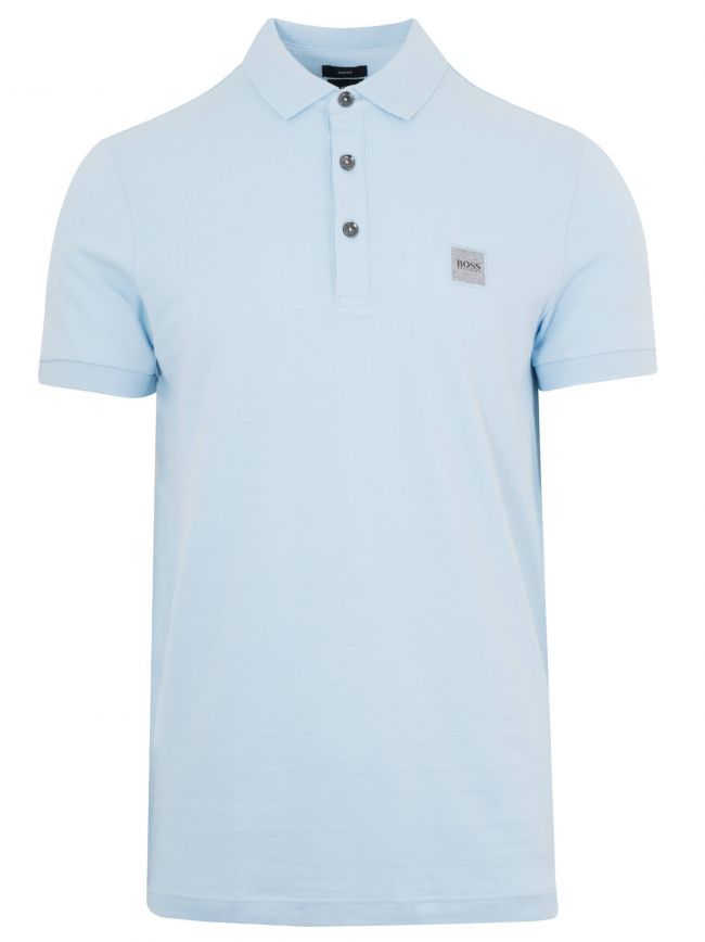 Passenger Pale Blue Polo Shirt
