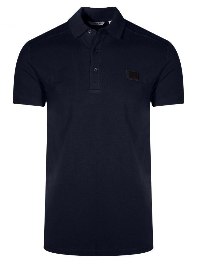 Dark Blue Logo Polo Shirt