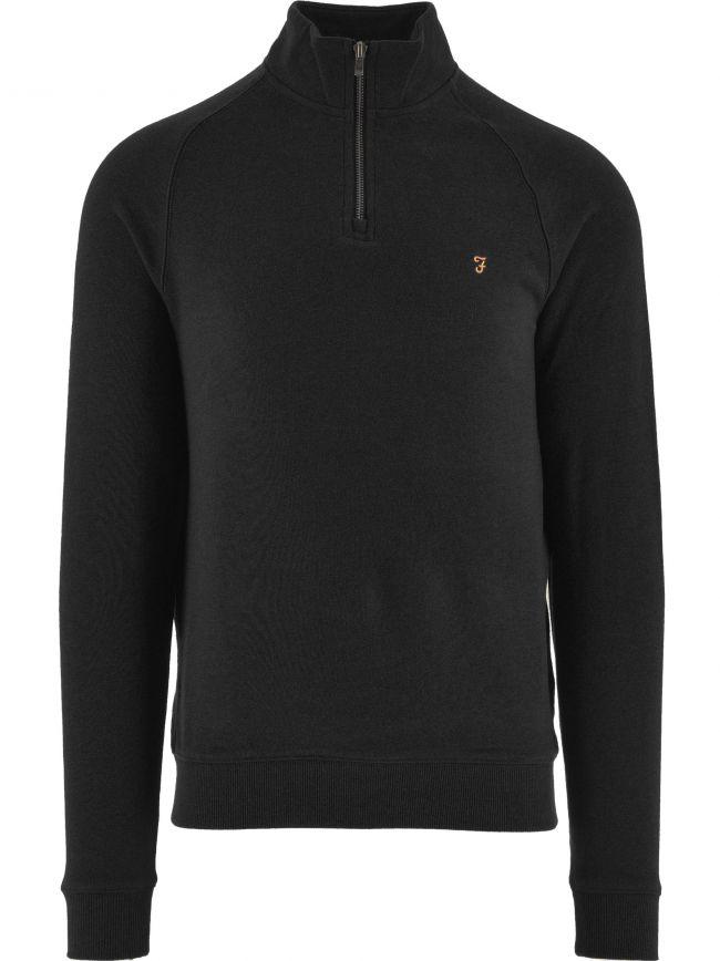 Black Jim Quarter-Zip Sweatshirt