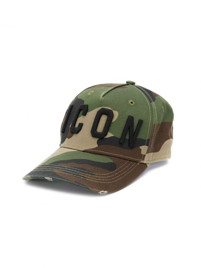 Camo ICON Embroidered Cap