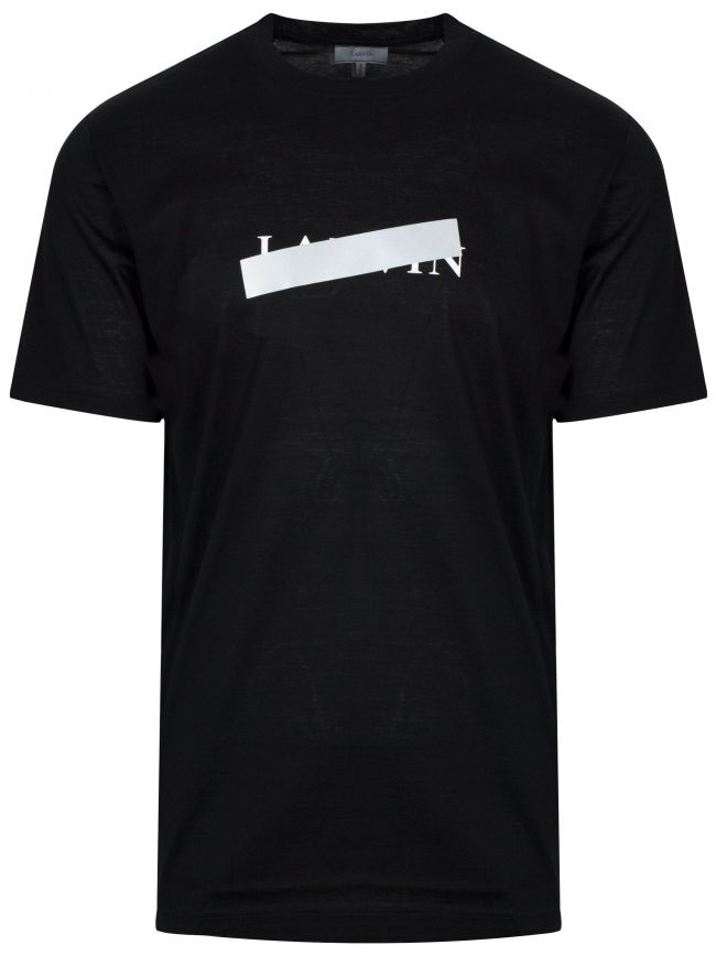 Black Reflective Cross T-Shirt