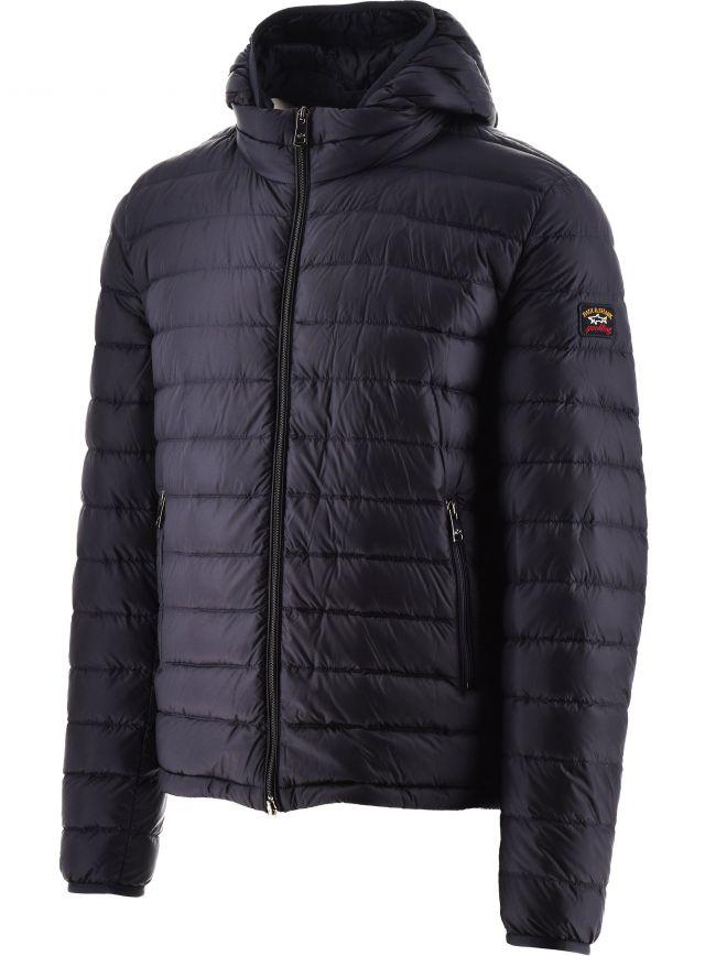 Blue Ultra Light Down Jacket