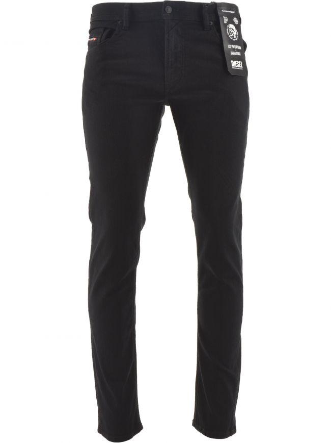 "Slim Fit Stretch Thommer X Black Jean 32"" Leg"