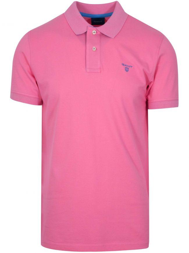 Pink Rose Polo Shirt