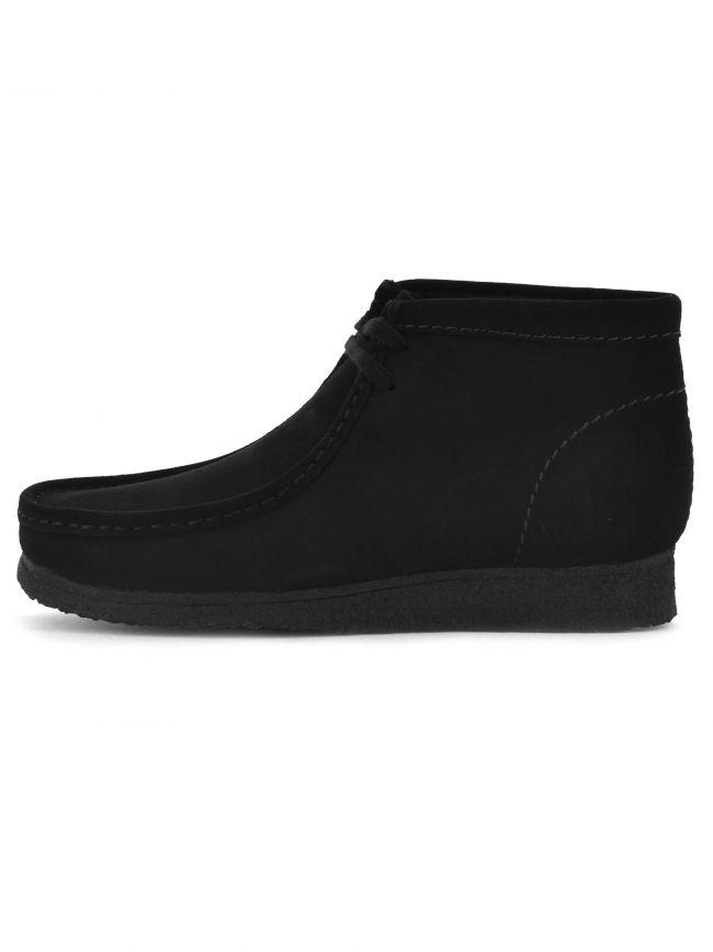 Black Suede Wallabee Boot