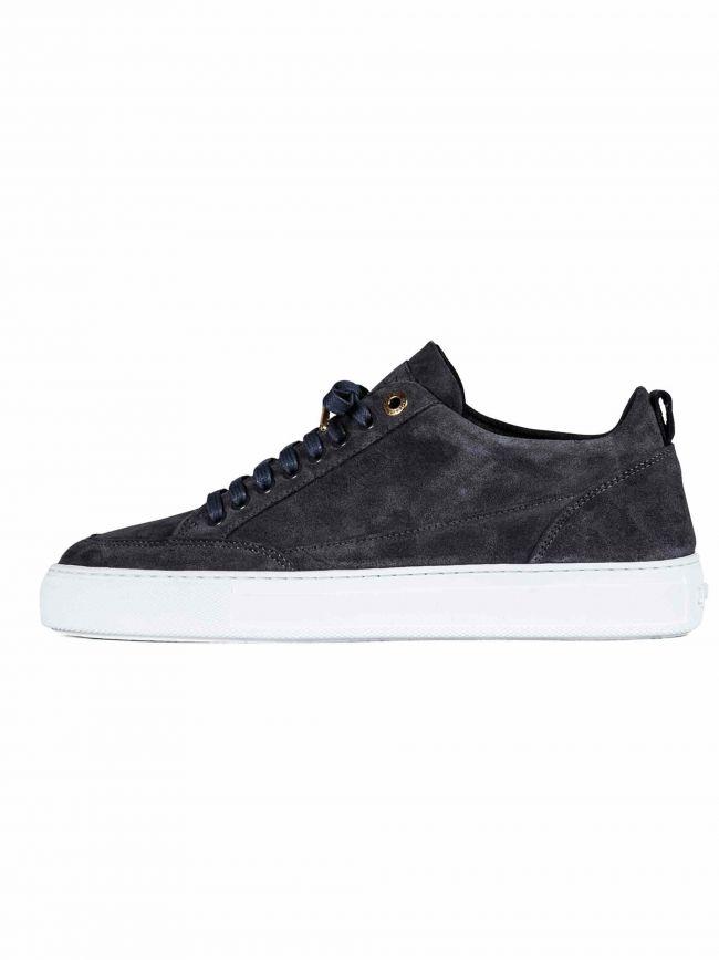 Asphalt Grey Tia Low Suede Sneaker