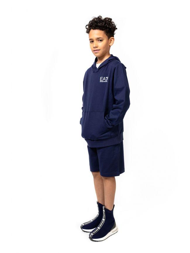 EA7 Kids Navy Bermuda Short