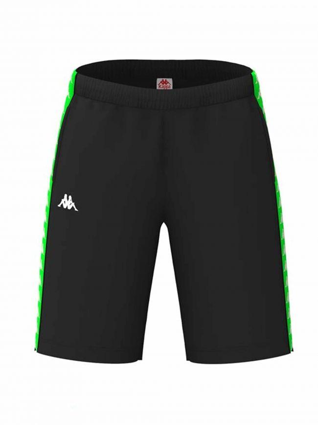 Black & Green Banda Shorts