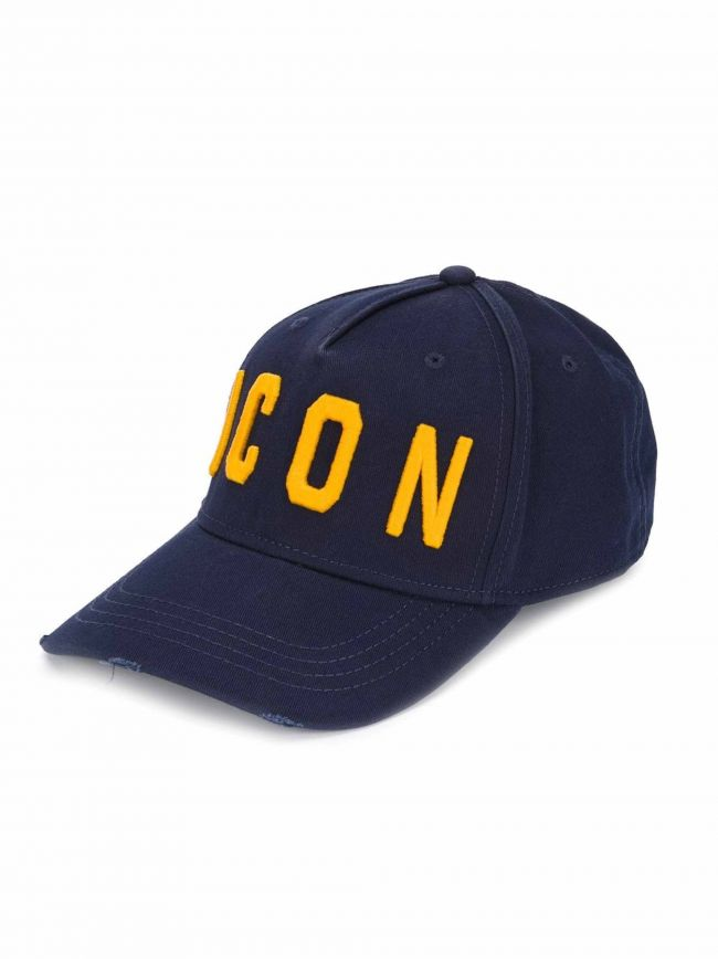 Navy & Gold ICON Embroidered Cap