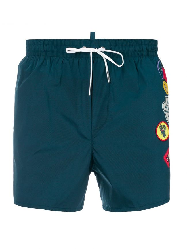 Teal Boy Scout Swim Short