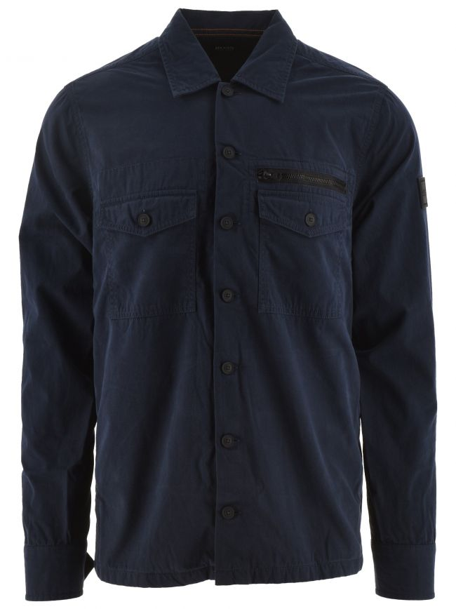 Navy Lovel 3 Overshirt
