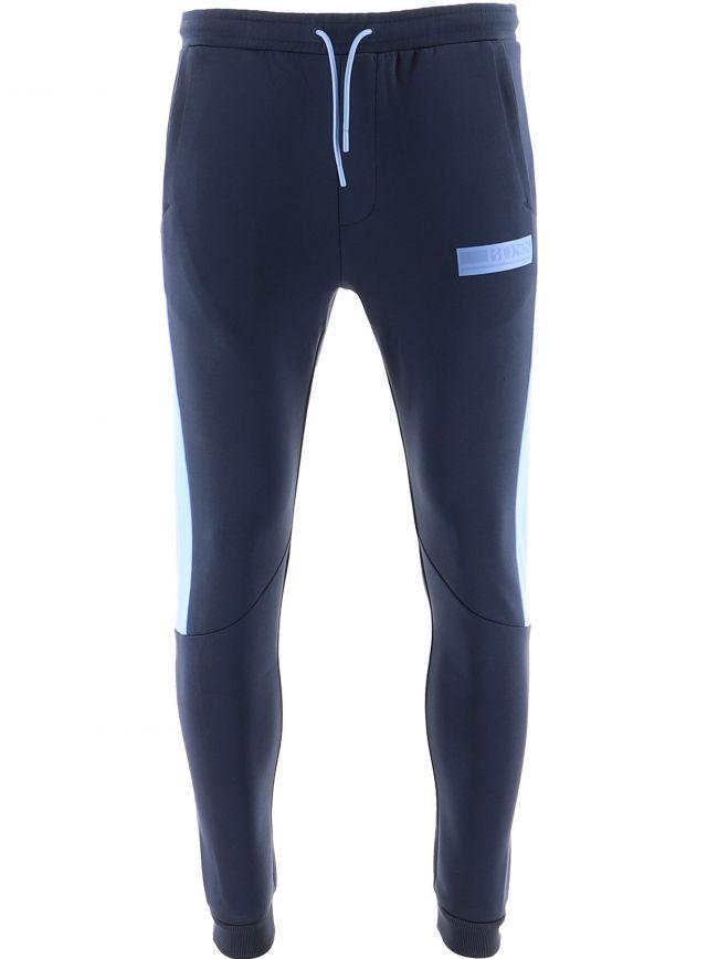 Navy Hadiko Batch Jogging Pant