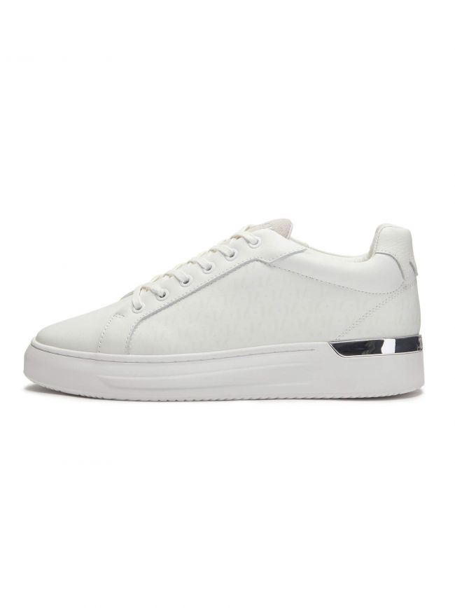 GRFTR White Mono Sneaker