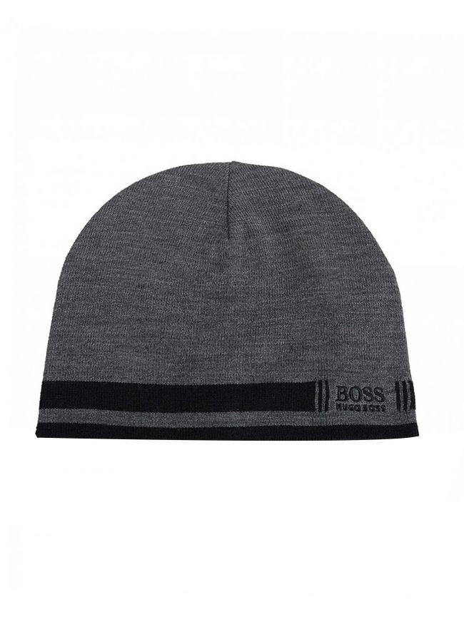 Grey Ciny-3 Beanie Hat