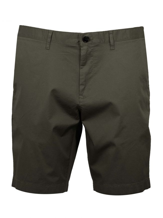 Olive Green Chino Short