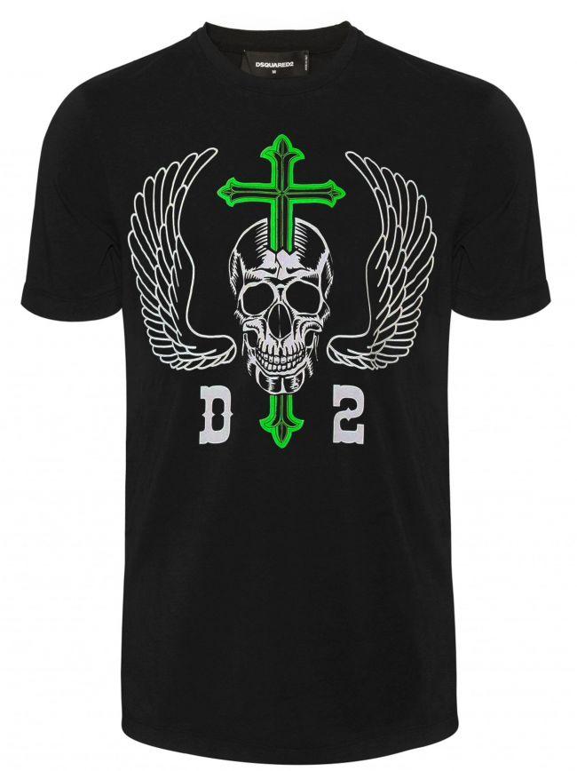 Black Skull Logo T-Shirt