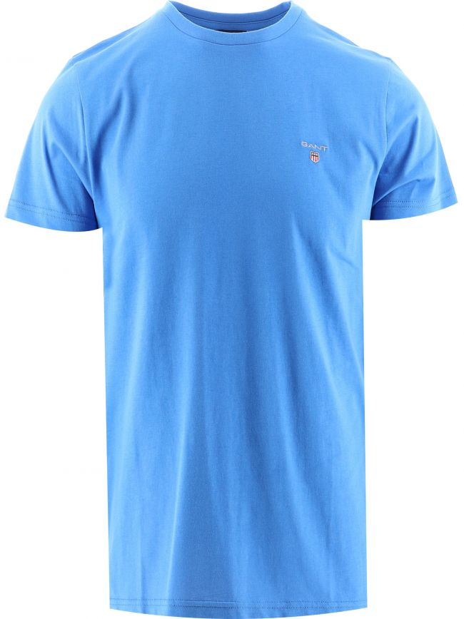 Strong Blue Classic Crew Neck T-Shirt