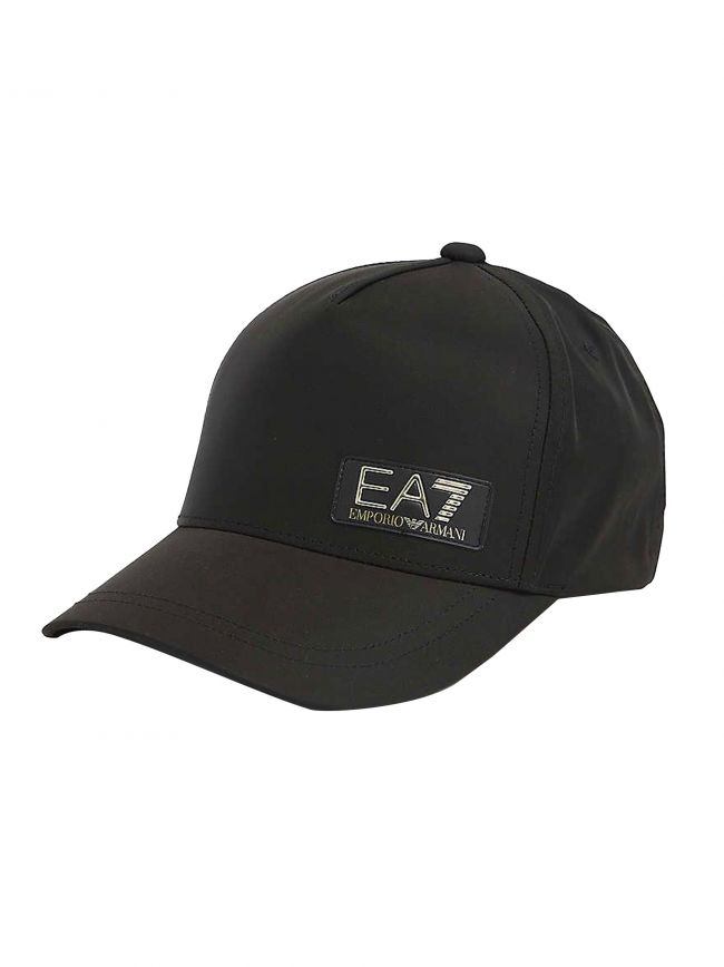 Black & Gold Logo Baseball Cap