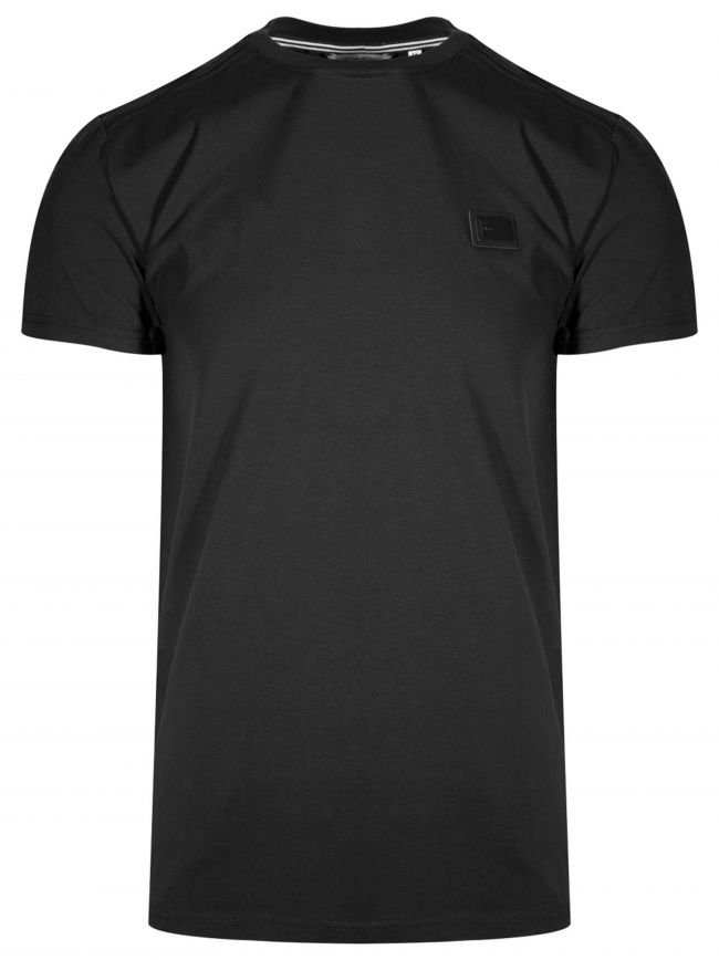 Crew Neck Black T-Shirt
