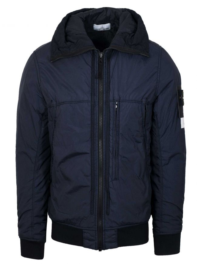Navy Garment Dyed Crinkle Reps NY Jacket