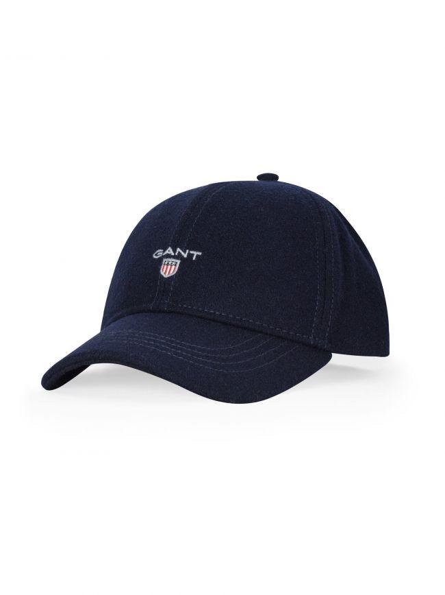 Navy Canvas Baseball Cap