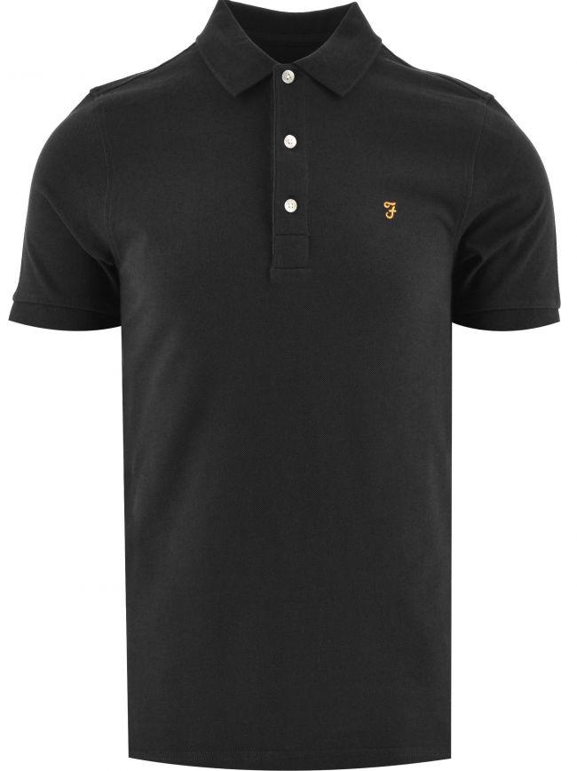 Black Blanes Polo Shirt