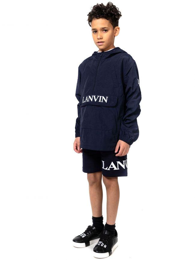 Lanvin Kids Navy Windbreaker Jacket