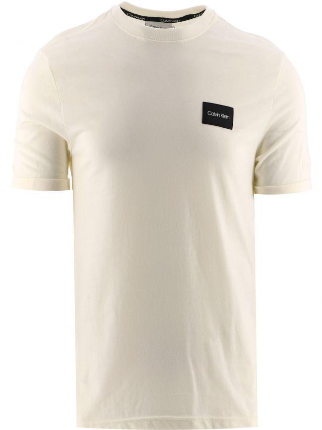 Off-White Turn-Up Sleeve Badge T-Shirt