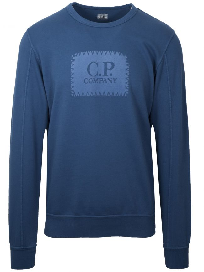Blue Patch Logo Sweatshirt