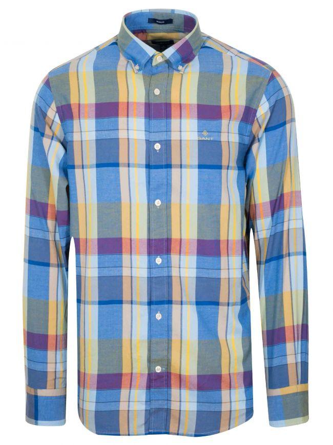 Lake Blue Oxford Long-Sleeve Shirt