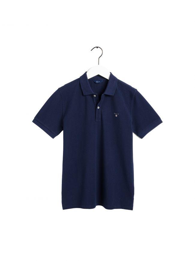 Navy Original Pique Polo Shirt