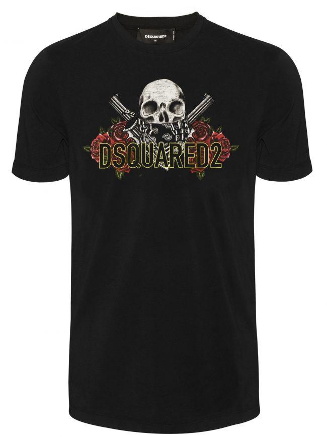 Black Akimbo Pistols T-Shirt