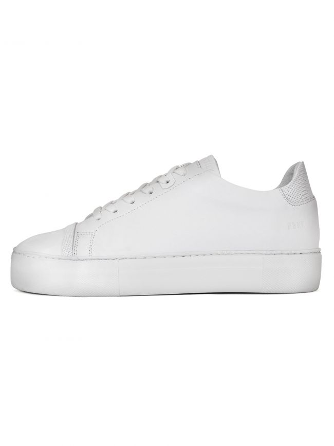 White Jagger Aspen Leather Sneaker