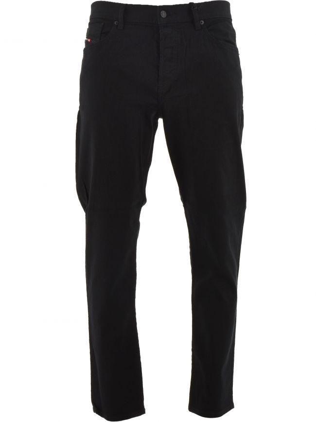 Black D-Fining 30 Leg Tapered Jean
