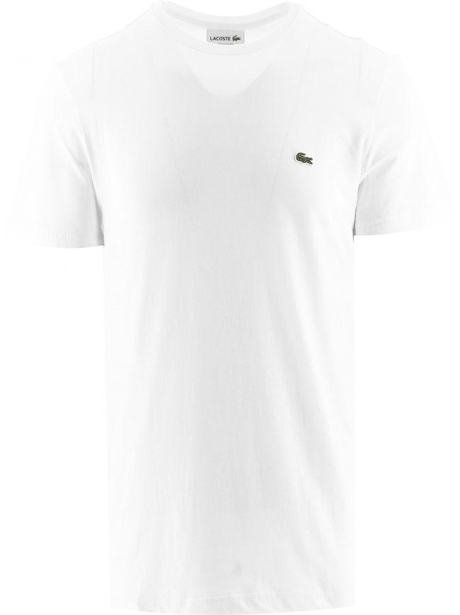 White Short Sleeve Crew Neck T-Shirt