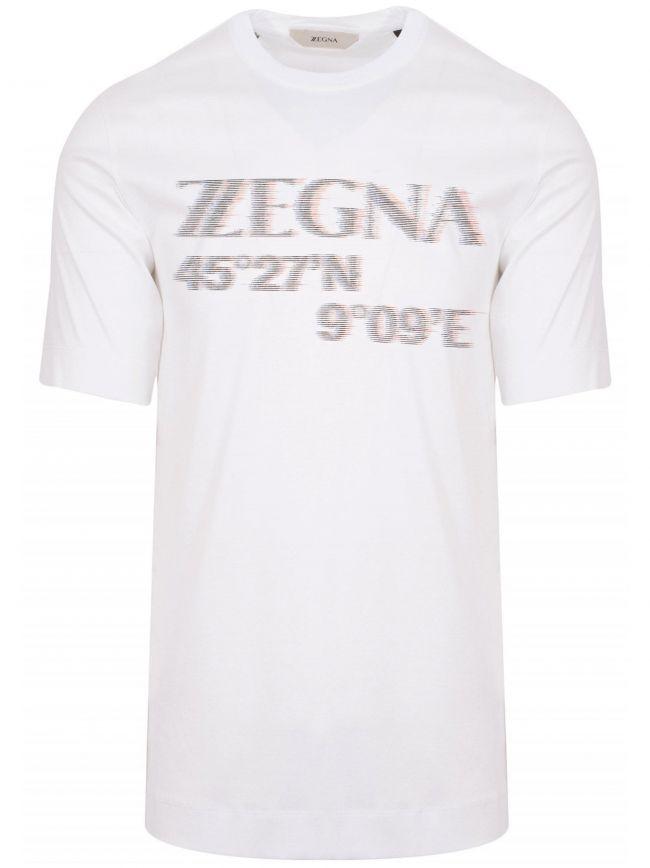 White 3D Logo T-Shirt