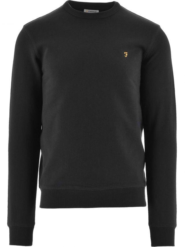 Black Tim Crew Sweatshirt