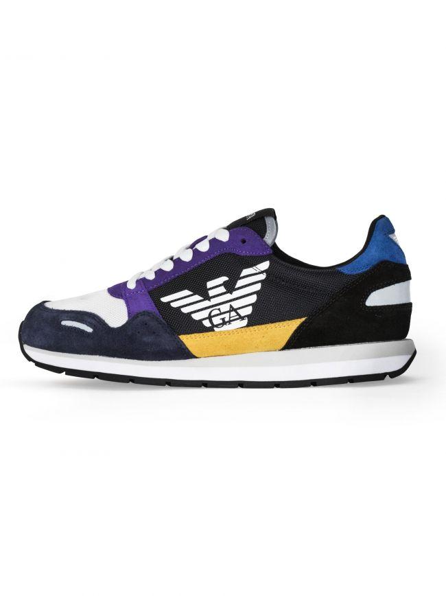 Black & Purple Runner