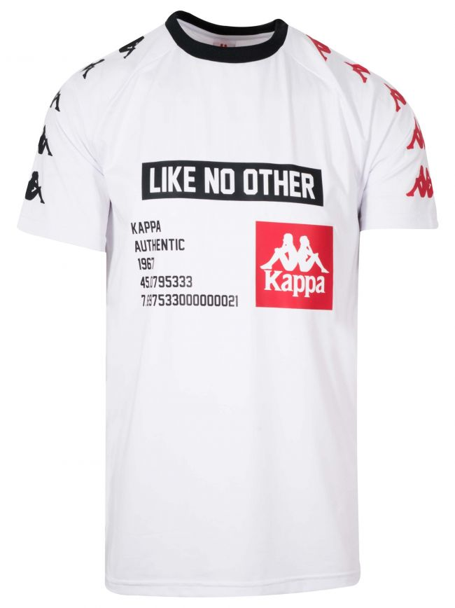White 'Like No Other' Block T-Shirt