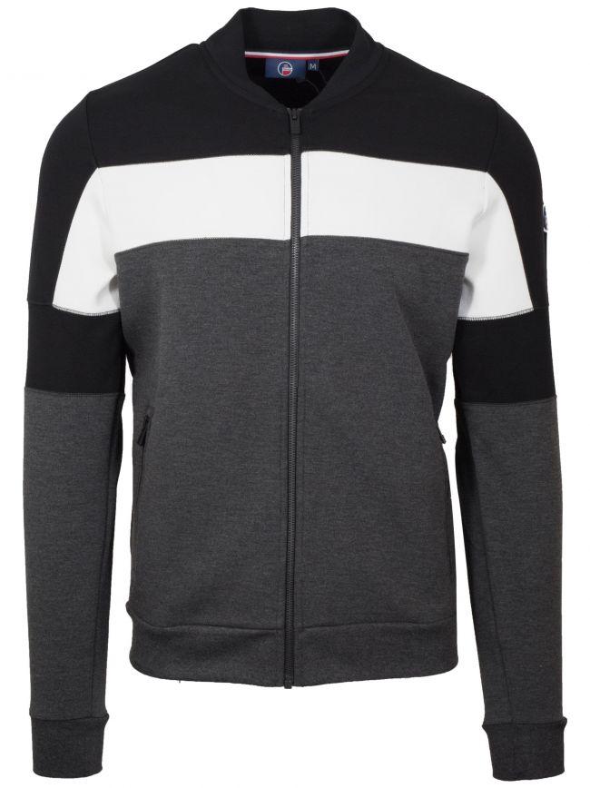 Block Colour Zip Sweatshirt