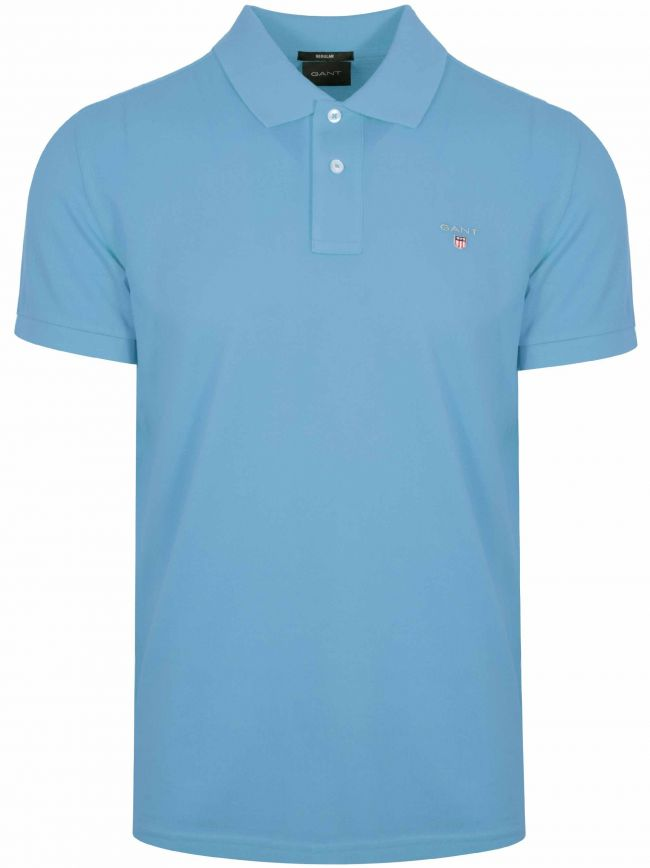 Pacific Blue Classic Polo Shirt