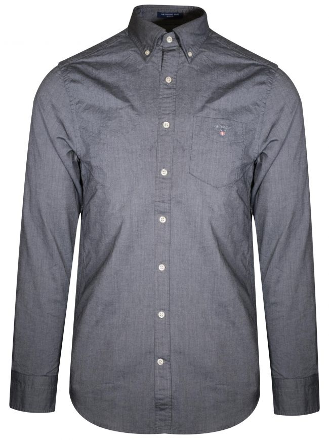 Grey Oxford Regular Shirt