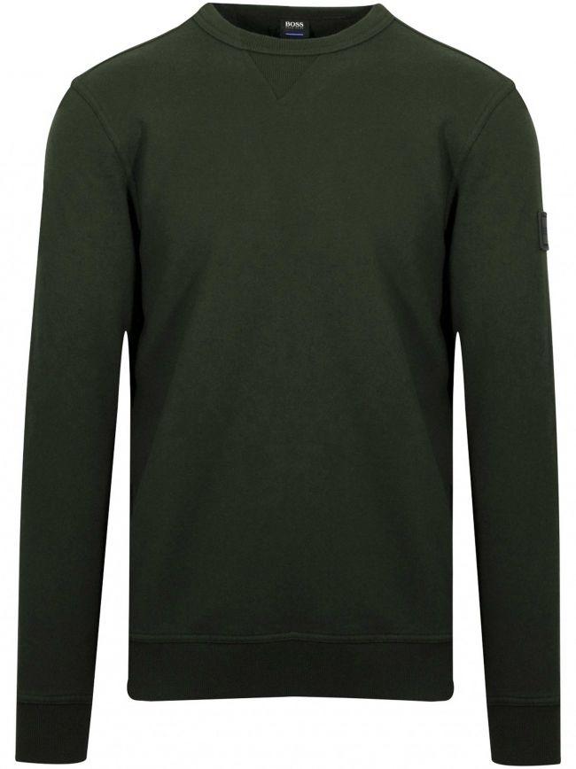 Open Green Walkup Sweatshirt