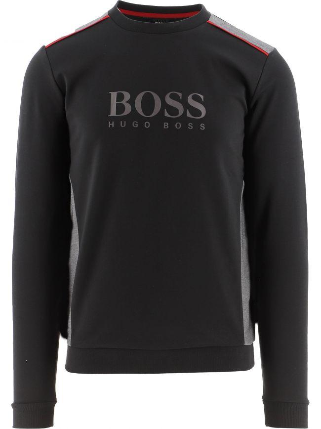 Black Tracksuit Sweatshirt