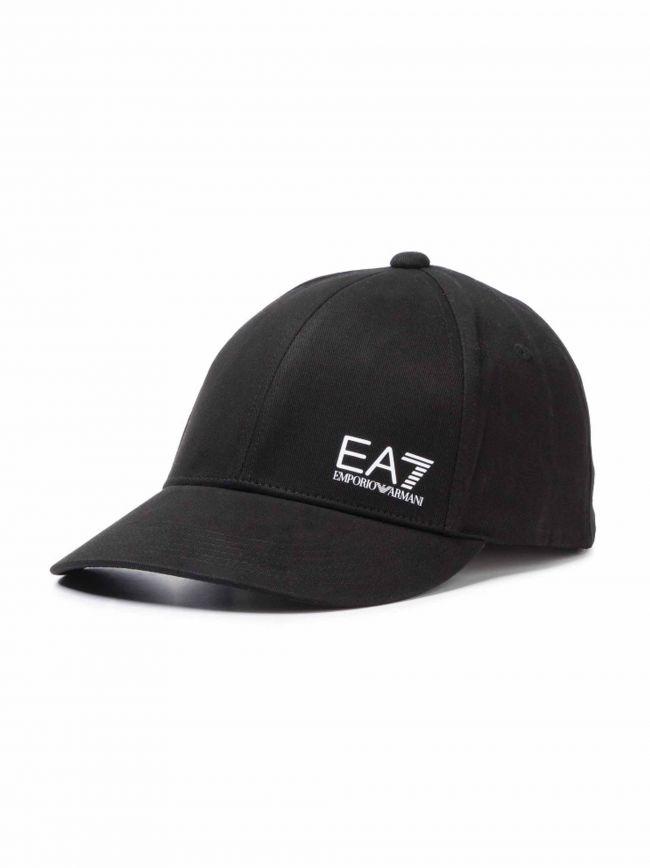Black Patch Logo Baseball Cap