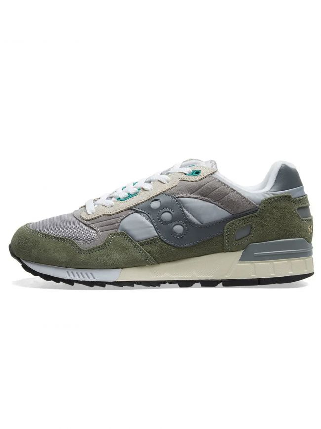 Grey & Green Shadow 5000 Sneaker