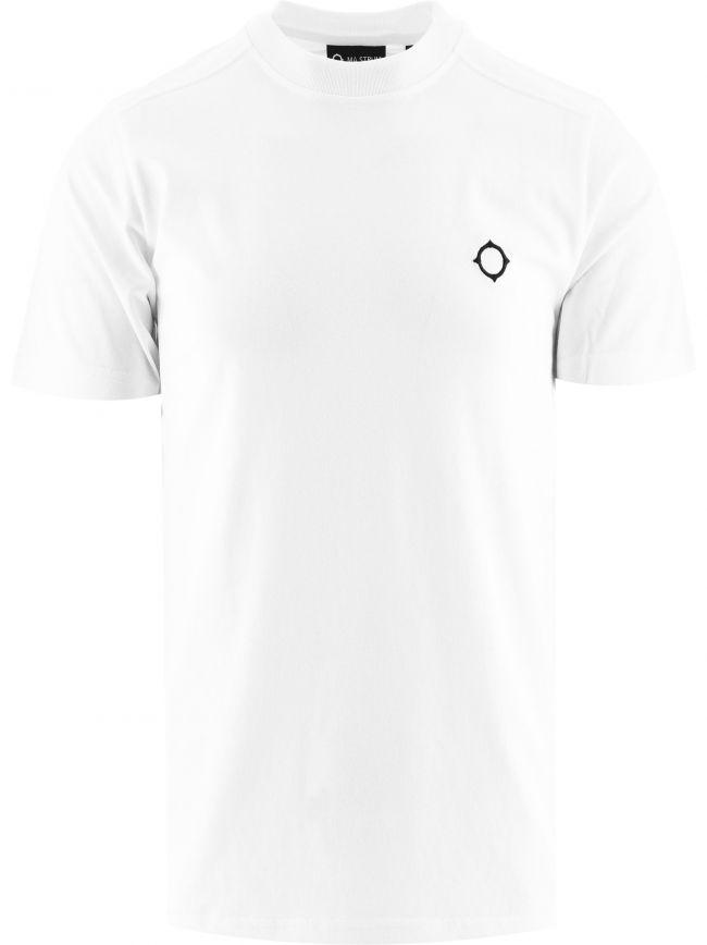 White Short Sleeve Icon T-Shirt