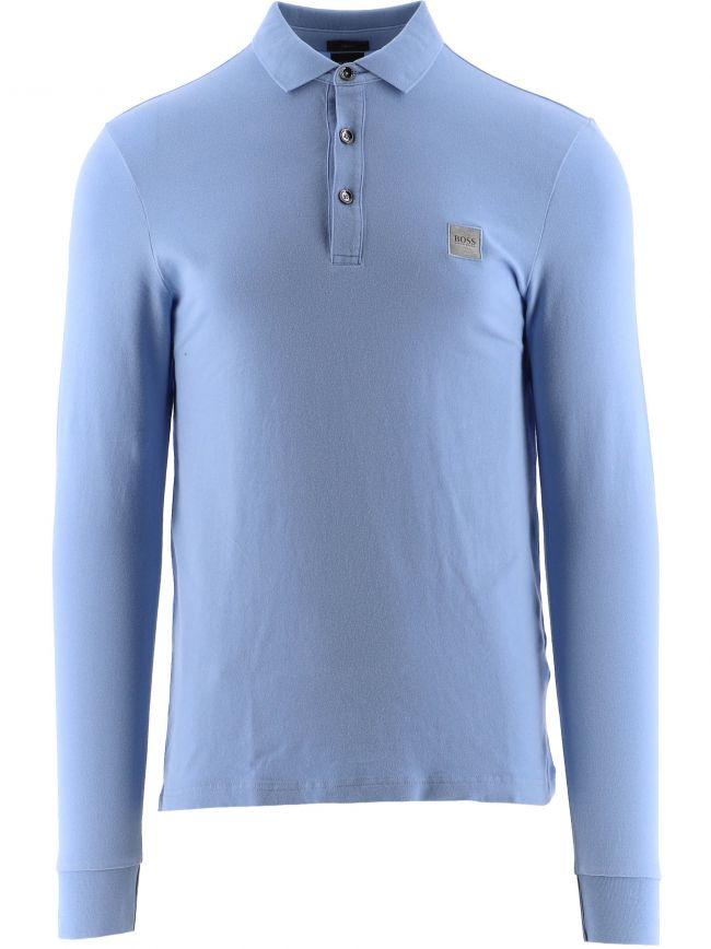 Light Blue Passerby Polo Shirt