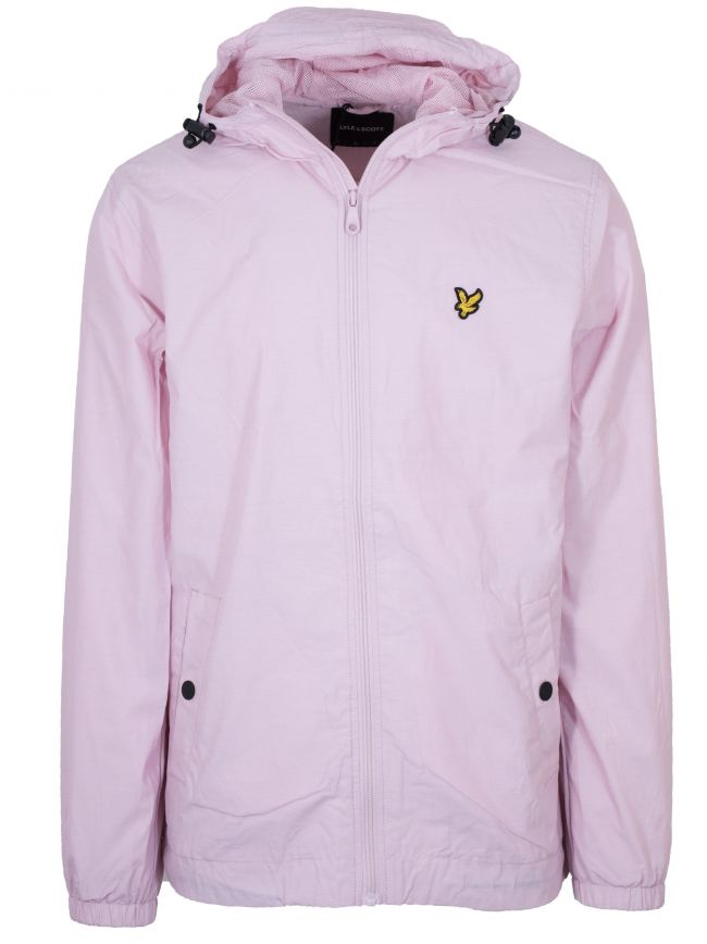 Dusty Lilac Hooded Lightweight Jacket