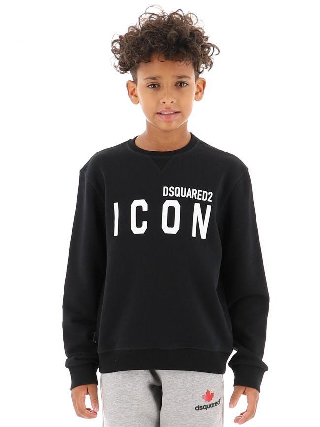 Black Icon Sweatshirt